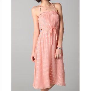 Halston Heritage Peasant Dress